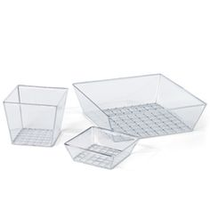 Clear Lookers Bins & Trays | The Container Store