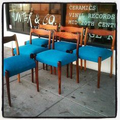 Knew Stock #fler #fredlowen #danish #danishdesign #design #designer #retro #vintage #furniture #chairs #chairporn #sixties #60s #1960s #melbourne #Preston #hunterandco