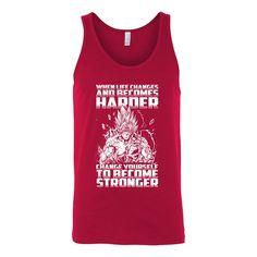 Super Saiyan Bardock become stronger Unisex Tank Top T Shirt - TL00475TT