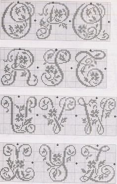 Alphabet 2 monochrome