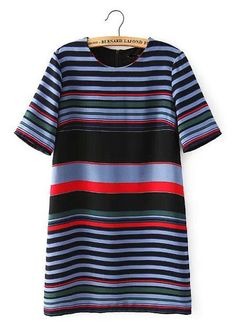 We Love Stripes Dress is perfect to rock as a mini dress or to pair with jeans as a long tunic. How would you wear it? #streetstyle