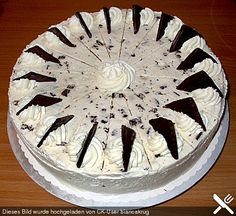 Schnelle After Eight Torte 1 (Favorite Cake) After Eight Torte, Cake & Co, Weird Food, Crazy Food, Cake Tutorial, No Bake Cake, Baked Goods, Baking Recipes, Baking Ideas