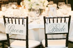 Bride & Groom chairs #DonnaMorganEngaged