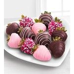 Chocolate Dip Delights Valentines Day Real Chocolate Covered Strawberries