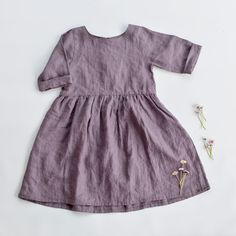 Girls dress from Simply grey