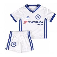 e67b657469 Chelsea Third Mini Kit Perfect for any junior Blue