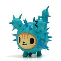 Cactus art toy