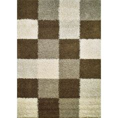 Shop Concord Global 6-ft 7-in x 9-ft 3-in Beige Moderno Area Rug at Lowes.com