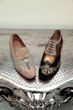 Conversation with Christian Louboutin & Sabyasachi Mukherjee Mode Shoes, Men's Shoes, Shoe Boots, Oxfords, Loafers, Sabyasachi, Dream Shoes, Christian Louboutin Shoes, Mode Style
