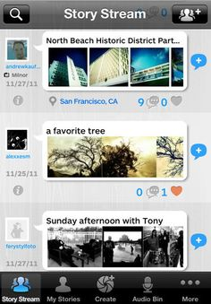 Great documentation app.  For experiments, trips, story telling, explanations, etc.