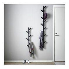 TJUSIG フック, ブラック - 78 cm - IKEA