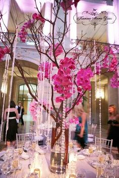 Reception, Pink, Silver, Table setting, Karina marie diaz, San francisco city hall