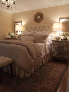 Romantic Dream Master Bedroom Design Ideas 43