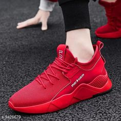 Casual Shoes ShresthaUltra Light RedBreathable Comfy Casual Sports Sneakers For Men Material: Mesh Sole Material: Tpr Fastening & Back Detail: Lace-Up Multipack: 1 Sizes: IND-7 IND-6 IND-10 IND-9 IND-8 Country of Origin: India Sizes Available: IND-6, IND-7, IND-8, IND-9, IND-10   Catalog Rating: ★3.9 (672)  Catalog Name: Modern Fabulous Men Casual Shoes CatalogID_1655472 C67-SC1235 Code: 874-9426679-579