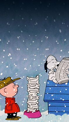 Download Charlie Brown Christmas Snoopy iPhone 5 Wallpaper