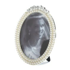 Strands of Pearl Picture Frame