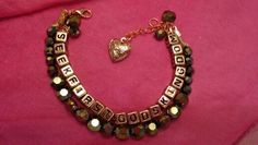 Bracelets I made for NJ international convention 2014