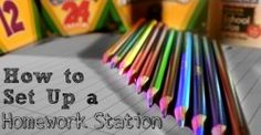 How to Set Up a Homework Station for School Success