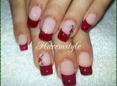 Christmas nails2 by haremstyle