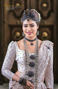 Dressed by Warsha Indu Sari Wedding Dresses, White Saree Wedding, Wedding Attire, Wedding Bride, Bridal Dresses, Bridesmaid Dresses, Beautiful Girl Image, Beautiful Bride, Srilankan Wedding
