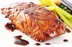 Salmon con salsa teriyaki 2