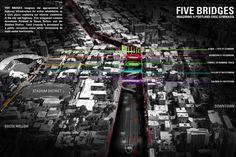 chadbourne + doss architects - Five Bridges, Stitch Competition