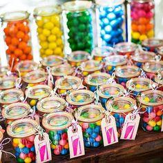 Rainbow giveaways