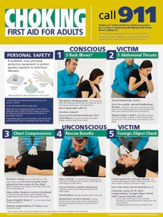 Adult Choking Poster  $12.95