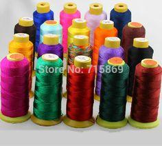 1000yard/Row 0.25mm 3-ply Waxed Acrylic Fiber Cord Hilo Encerado / Cording, Stringing, Macrame cord, Thread,