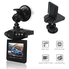 "On Dash Video, econoLED 2.5"" Dash Cam for Cars with Night Vision / HD IR Dash Cam 270 Degrees Rotatable Camera Video Recorder / Traffic Dashboard Camcorder Loop Recording-No Card. For product info go to:  https://www.caraccessoriesonlinemarket.com/on-dash-video-econoled-2-5-dash-cam-for-cars-with-night-vision-hd-ir-dash-cam-270-degrees-rotatable-camera-video-recorder-traffic-dashboard-camcorder-loop-recording-no-card/"
