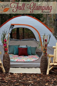 Turn Your Back Yard Into The Ultimate Retreat With These Easy FallGlamping Ideas
