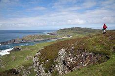 Walking on the west coast of Islay