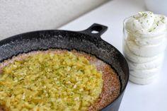 A manger et à voir: Clafoutis ananas-basilic-pommes vertes de Christophe Michalak