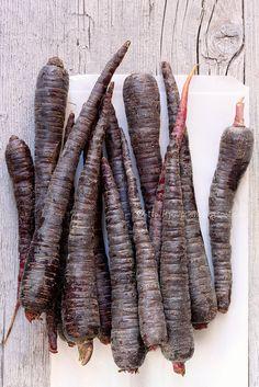 black carrots.