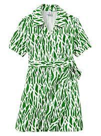 Diane von Furstenberg ♥ babyGap wrap dress