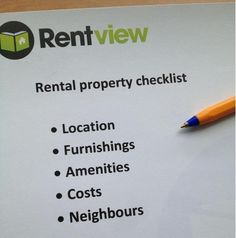 Looking at moving to a new rental property? The Property viewing Checklist will help you make the hard decisions #tenant #rental #checklist #decisions