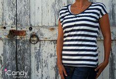 pattern, free : (tutorial and pattern) Everyday Basics 4: Everyday Tee - iCandy handmade