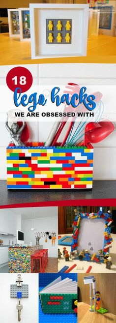 18 LEGO Hacks We Are Obsessed With via @spaceshipslb