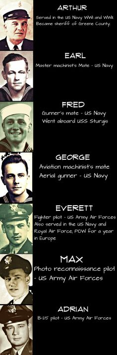 WWII Stories: Remembering the 7 Powell Brothers - http://www.warhistoryonline.com/war-articles/wwii-stories-remembering-the-powell-brothers.html