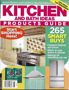 Kitchen And Bath Ideas Magazine Products Guide Designer Tips Appliances  Storage