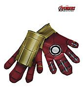 No Halloween costume is complete without these! When Tony Stark needs to stop the Hulk from destroying NYC, he uses big gloves to deal with Hulk's big hands.