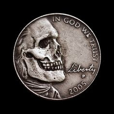 Hobo nickel carving