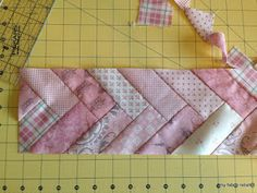 my fabric relish: the french twist quilt border