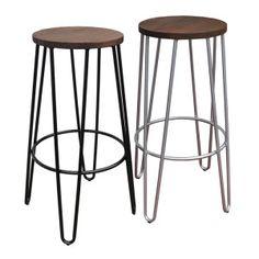 75cm Hairpin stools