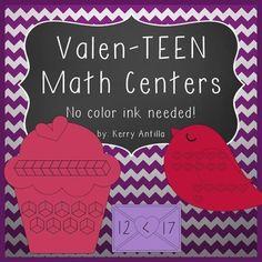 Valen-TEEN Math Centers
