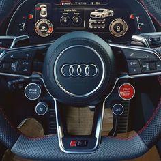 "121 Likes, 1 Comments - Audi Naples (@audinaples) on Instagram: ""Fun buttons!  // #audi #audinaples #audizine #fourrings #exclusive #audiexclusive #fourtitude…"""