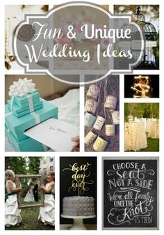 Unique and Fun Wedding Ideas   The Mindful Shopper