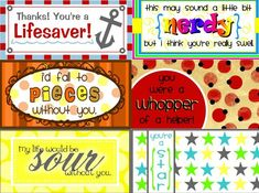 Candy Grams Free Printable  Candy grams Free printable and Free