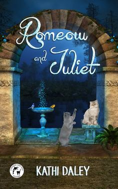Cozy Mystery Book Cover for Romeow and Juliet - A Whales and Tails Mystery #1 by Kathi Daley