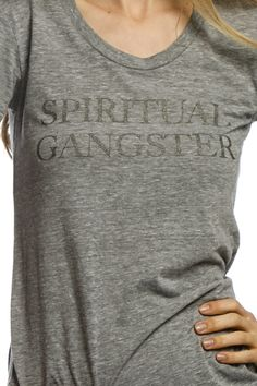 Spiritual gangster / provides a meal to a person in need for every item sold